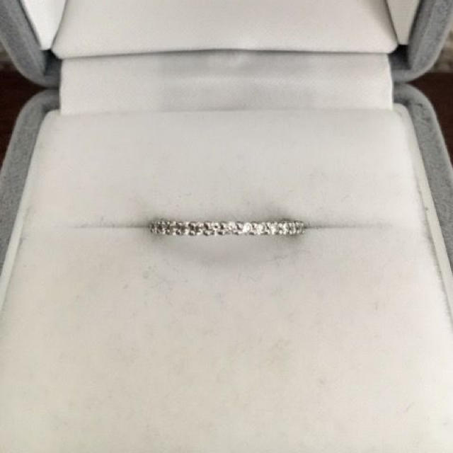 4℃(ヨンドシー)のcanal 4℃ ダイヤモンド エタニティ リング Pt900 2.2g レディースのアクセサリー(リング(指輪))の商品写真