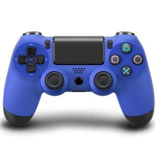 USBケーブル付 PS4 Bluetoothコントローラー ブルー 青色