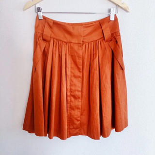 ドレステリア(DRESSTERIOR)のテラコッタカラー♡フレアスカート(ひざ丈スカート)
