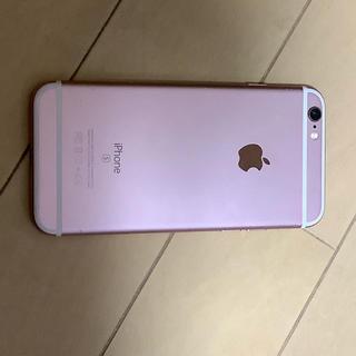 iPhone - SIMロック解除済 iPhone6s 128GB ローズゴールド