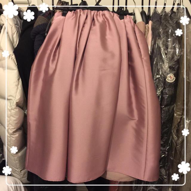 Demi-Luxe BEAMS(デミルクスビームス)の新品タグ付き Demi-Luxe BEAMS スカート ピンク 38 大草直子 レディースのスカート(ひざ丈スカート)の商品写真