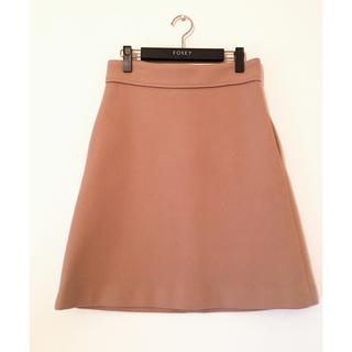 Drawer - DRAWER ドゥロワー ウールスカート 台形スカート