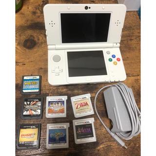 ニンテンドー3DS - 3DS本体(充電器付き)ソフト7本