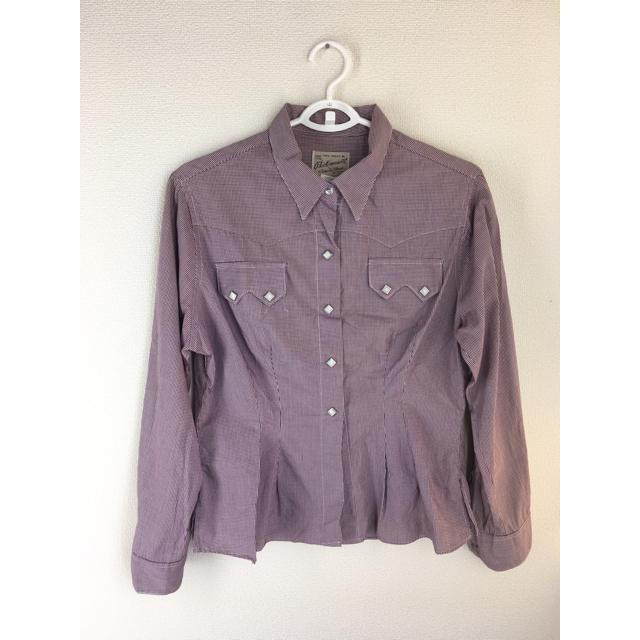 ROCKMOUNT(ロックマウント)のROCKMOUNT lady's長袖シャツ(古着/size:M) レディースのトップス(シャツ/ブラウス(長袖/七分))の商品写真