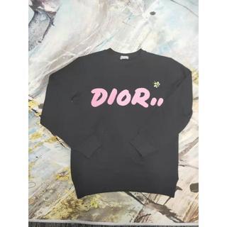 ディオール(Dior)のDior DIOR×KAWS ロゴ入りスウェットシャツ(トレーナー/スウェット)