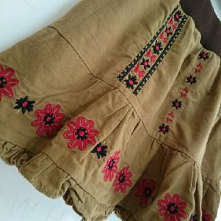 レイカズン(RayCassin)のレイカズン★刺繍スカート(ミニスカート)
