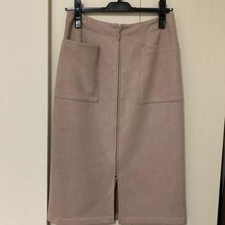 ストラ(Stola.)のりんさま。専用stola. フェイクスエード スカート (ひざ丈スカート)