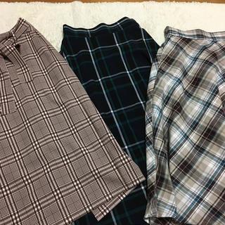 GU - ■GU スカート3点まとめ売り■