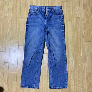 GU - GU ストレートジーンズ