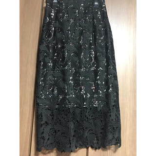 snidel - snidel レースタイトスカート