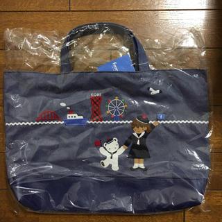 familiar -  新品 ファミリア  デニムバッグ マチあり 神戸本店限定