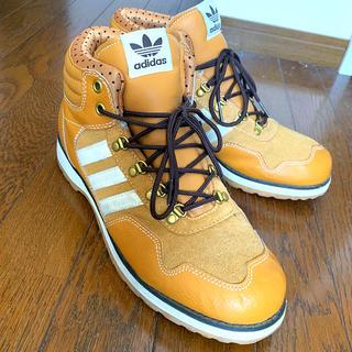 アディダス(adidas)のadidas/アディダス♫ハイカット/靴/シューズ/茶色/ブラウン28cm(スニーカー)