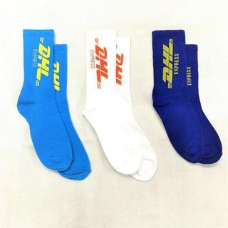 靴下 ソックス DHL 3種 ストリート カニエ ジャスティン 海外 人気(ソックス)