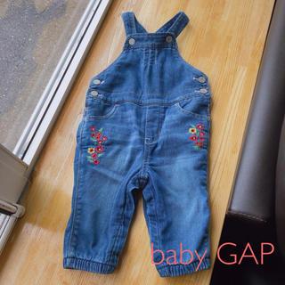 ベビーギャップ(babyGAP)のbaby GAP☆デニムサロペット(ロンパース)