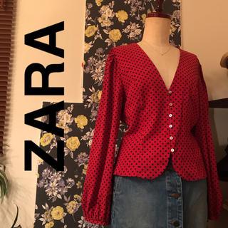 ZARA - ZARAブラウス