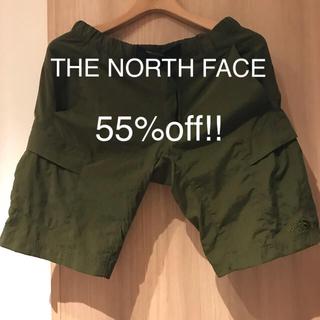 THE NORTH FACE - ノースフェイス V short cargo ハーフパンツ NB41725 カーキ