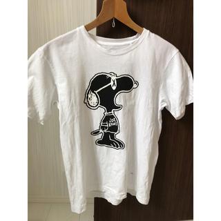スヌーピー(SNOOPY)のUNIQLO × kaws スヌーピー TシャツS(Tシャツ/カットソー(半袖/袖なし))