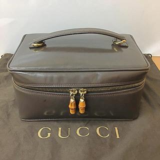 グッチ(Gucci)の鑑定済み 正規品 グッチ GUCCI バニティバッグ 正規袋付き 送料込み(ポーチ)