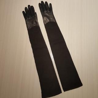 セリーヌ(celine)のCELINE レザー ロング グローブ❇レア❇(手袋)
