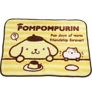 ポムポムプリン(ポムポムプリン)のポムポムプリン マフィン ブランケット ひざ掛け マイヤー(おくるみ/ブランケット)