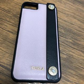 FURLA iPhoneケース 6.7.8対応  ハンドルストラップ付