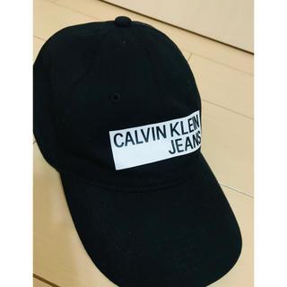 Calvin Klein - Calvin Klein Jeans キャップ 黒 ワンサイズ