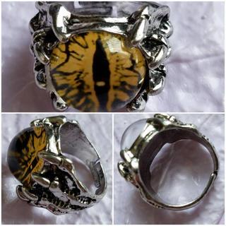 レディースアクセサリー メンズアクセサリー 指輪 リング 義眼 目玉 コスプレ(リング(指輪))