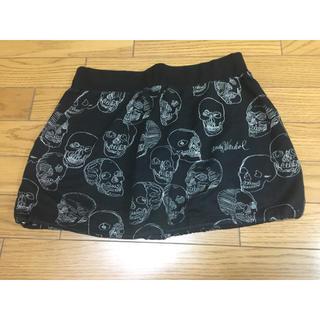 HYSTERIC GLAMOUR - 中古ヒステリックグラマー黒スカート総柄アンディーウォーホルFREE