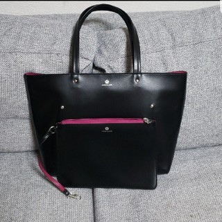 MARY QUANT - マリークワント  美品  トートバッグ×ポーチ 2点セット