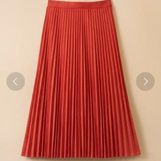 ハコ(haco!)のhaco!スウェードプリーツスカート(ロングスカート)