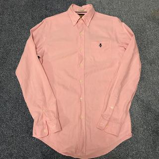 ポロラグビー(POLO RUGBY)のラルフローレン ラグビー シャツ ピンク XS(シャツ)