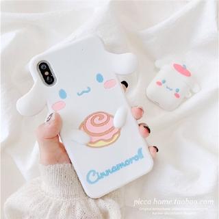 サンリオ - シナモンロールiPhoneケース シリコンiPhone7/8iPhoneX/XS