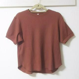 UNIQLO - ユニクロ*ワッフルTシャツ