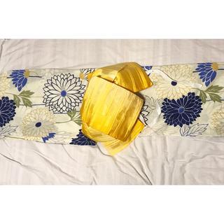 京都 購入   浴衣と作り帯セット☆