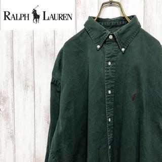 Ralph Lauren - Lauren ラルフローレン BDシャツ 無地シャツ 古着 トレンド