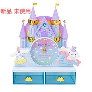 シナモロール -  新品☆レア シナモロール チェスト付きクロック サンリオ 未使用 時計