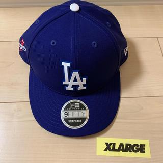 エクストララージ(XLARGE)のブルー newera XLARGE エクストララージ キャップ cap LA(キャップ)