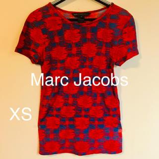 マークバイマークジェイコブス(MARC BY MARC JACOBS)のMarc Jacobs 赤系プリント Tシャツ サイズXS(Tシャツ(半袖/袖なし))