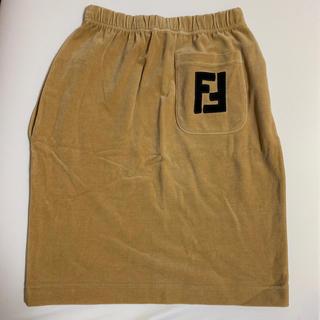 フェンディ(FENDI)のFENDI ベロアスカート(ひざ丈スカート)