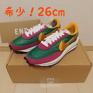 sacai - SACAI × NIKE LD ワッフル PINE GREEN 26cm