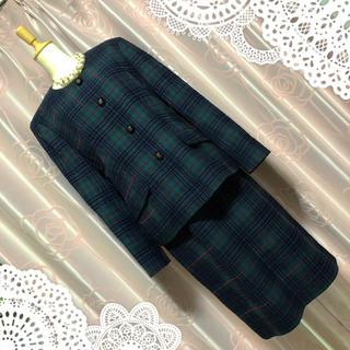 BURBERRY - 秋冬先取り burberry バーバリー スーツ ジャケット スカート お呼ばれ