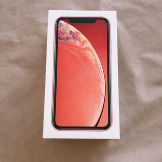 Apple -  iPhoneXR 64GB コーラル