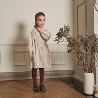 Caramel baby&child  - 4Y♥️bebe organic Olivia dress natural