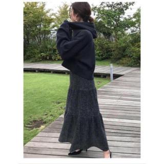 Mila Owen - ラメニットティアードスカート
