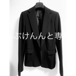 イング(INGNI)のINGNI 黒 ブラック ジャケット 上着 最終値下げ(テーラードジャケット)