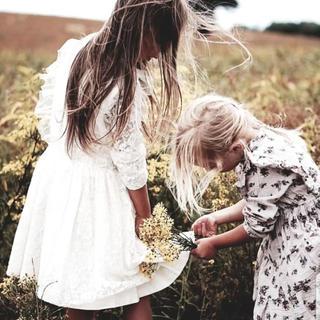 ボンポワン(Bonpoint)の6Y♥tocoto vintage vintage lace dress(ワンピース)