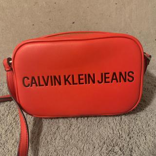 Calvin Klein - Calvin Klein Jeans ショルダーバッグ 赤 美品