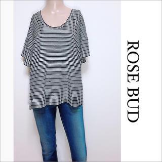 ローズバッド(ROSE BUD)のROSE BUD ボーダー Tシャツ プルオーバー♡シップス UNTITLED(Tシャツ(半袖/袖なし))