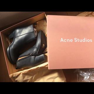 アクネ(ACNE)のacne studios ピストルブーツ レザーブーツ アクネ 23cm(ブーツ)
