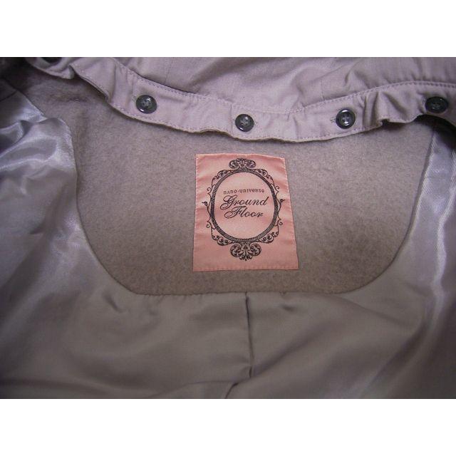 nano・universe(ナノユニバース)のnano・universe マルチウェイ ノーカラーコート モカ レディースのジャケット/アウター(ロングコート)の商品写真